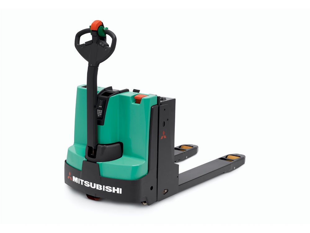 Electric pallet jack speedy equipment rentals for Motorized pallet jack rental